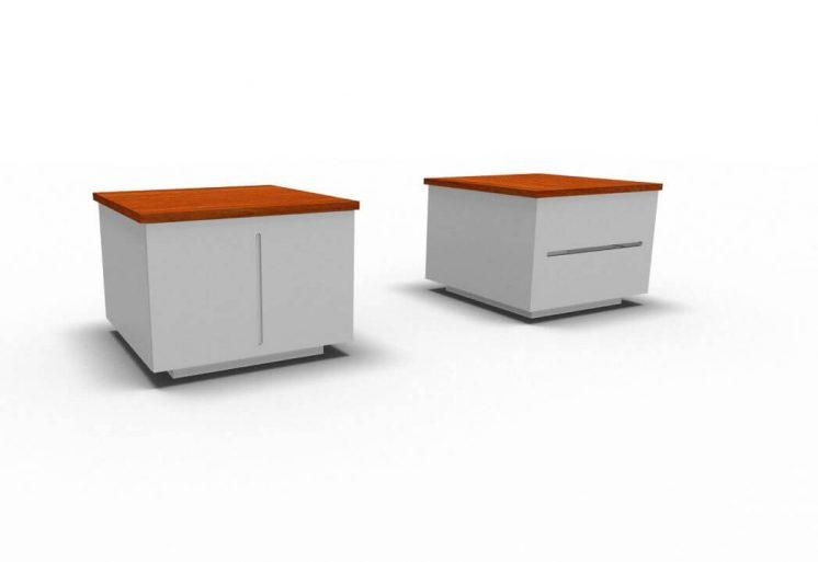 Container-mit Türen-oder-Schubladen