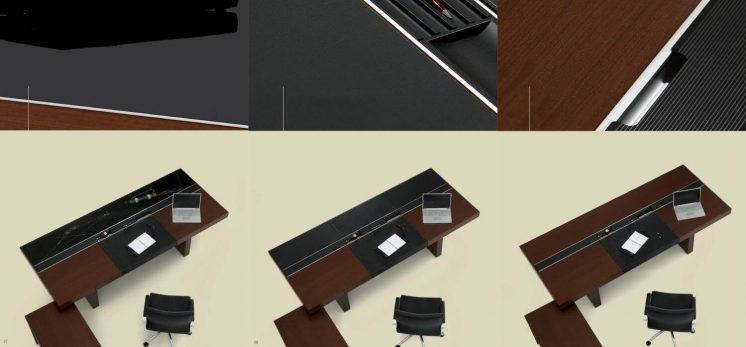 Schreibtisch-Armada-Tischeinsatz-Glas-Leder-Furnier_