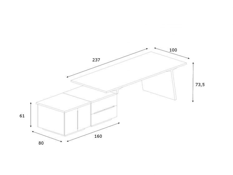 Schreibtisch-mit-2-Sideboards-Maki-Abmessungen