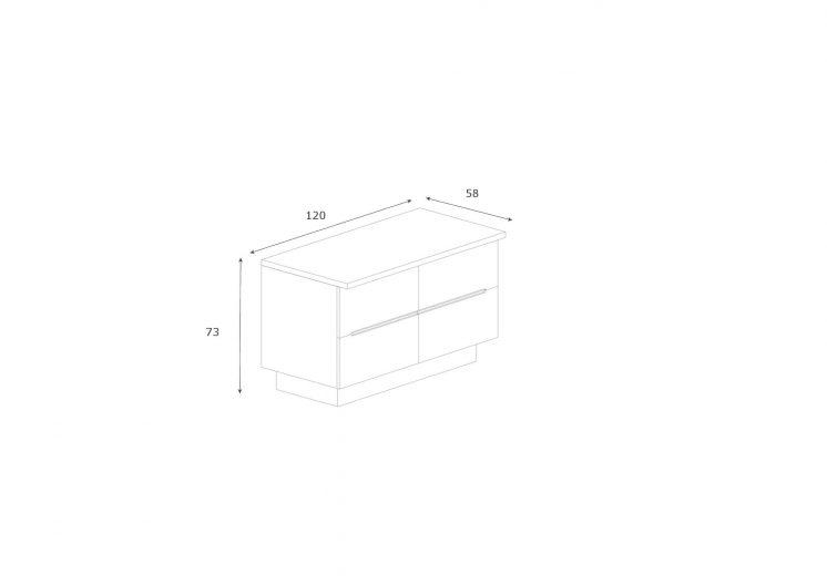 Sideboard-Maki-4-Schubladen-Abmessungen