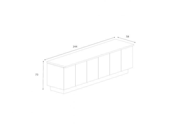 Sideboard-Maki-6-Tueren-Abmessungen