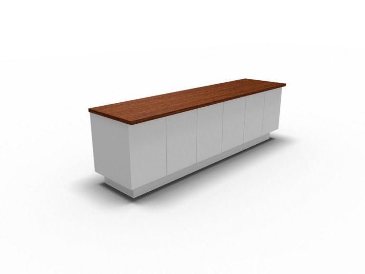 Sideboard-Maki-6-Tueren-Wenge-Weiss