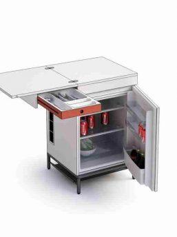 Modul-Besteck-Kuehlschrank-Element
