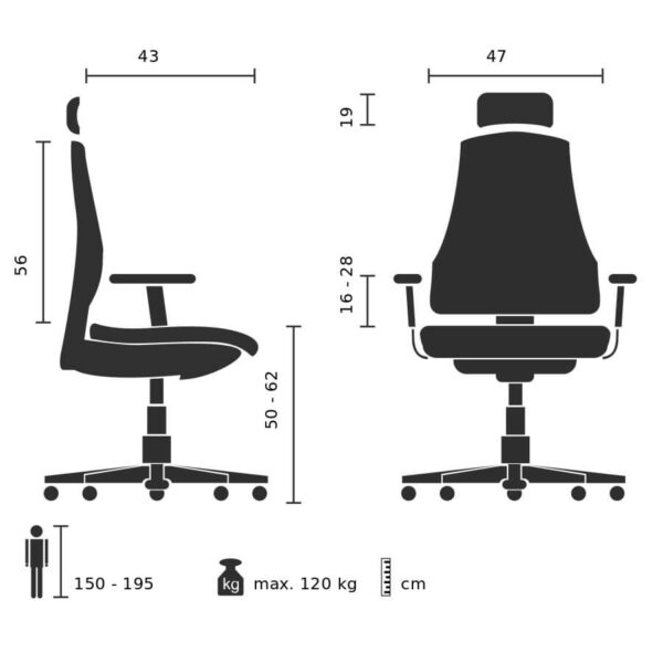 Arbeitsstuhl-Move-Tec-Pro-3D-Abmessungen