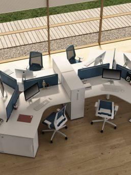Kompletter-Teamarbeitsplatz-6-Personen-Winglet