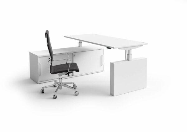 Steh-Sitz-Schreibtisch-Winglet-weiss