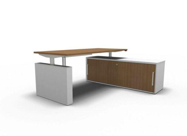 Steh-Sitztisch-Winglet-Nussbaum