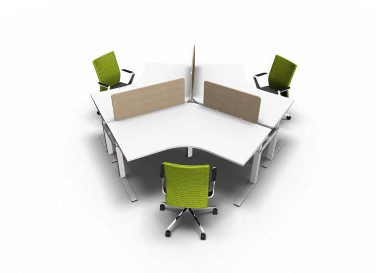 Teamarbeitsplatz-hoehenverstellbar-3-Personen-Weiss