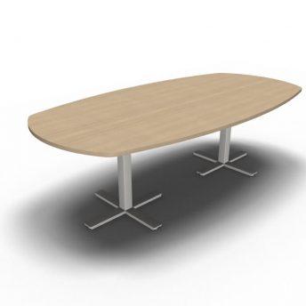 Konferenztisch-8 Personen-Winglet-Eiche
