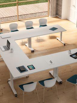 Konferenztisch-Winglet-Klapptische