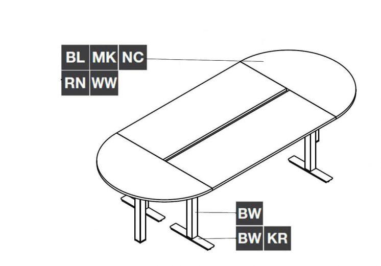 Ovaler-Konferenztisch-Winglet-Farben