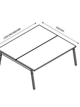 Schreibtisch-2-Personen-OGI_W-Abmessungen