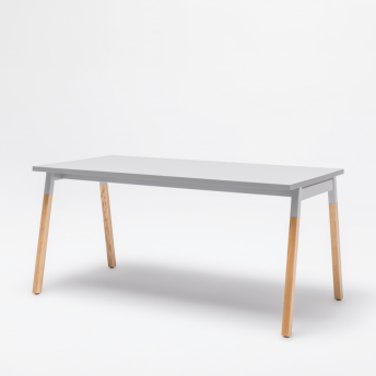 Schreibtisch-OGI_W-Aluminium Satinato