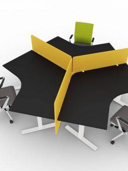 Arbeitsplatz-Winglet-elektrisch-hoehenverstellbar-fuer-3-Personen