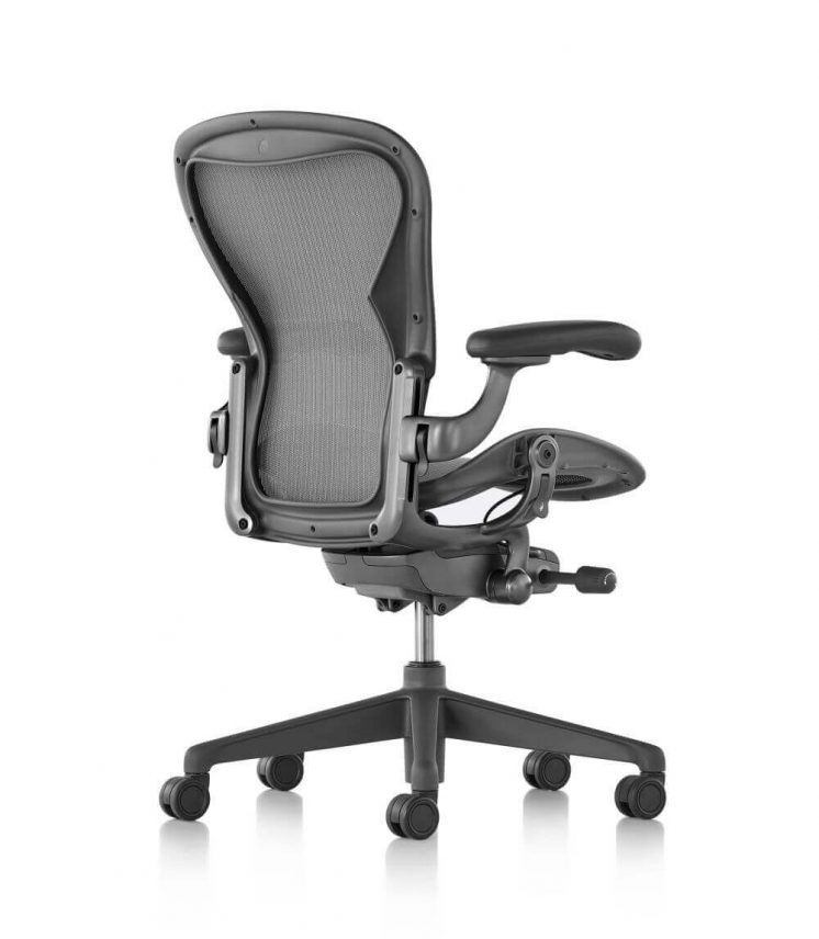 Buerostuhl-New-Aeron-Carbon-Fusskreuz-Dark-Carbon-Zonal-Back-Support-2