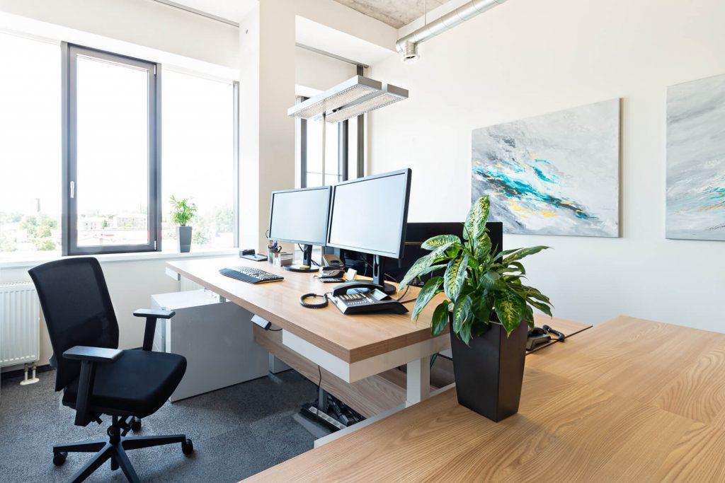 Büro - Schreibtisch elektrisch höhenverstellbar Faro - 2