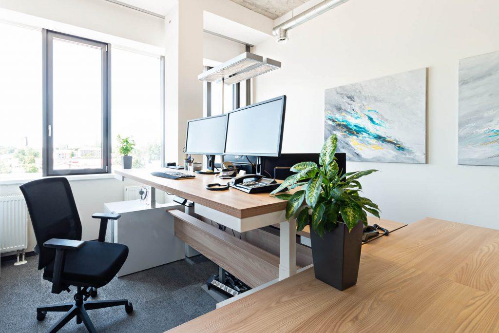 Büro - Schreibtisch elektrisch höhenverstellbar Faro - 3
