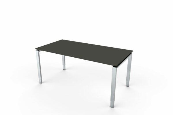 SchreibtischPalermoEdelstahl