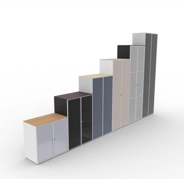 Schraenke-2OH-7OH-mit-Glastueren-ABA-verschiedene-Farben