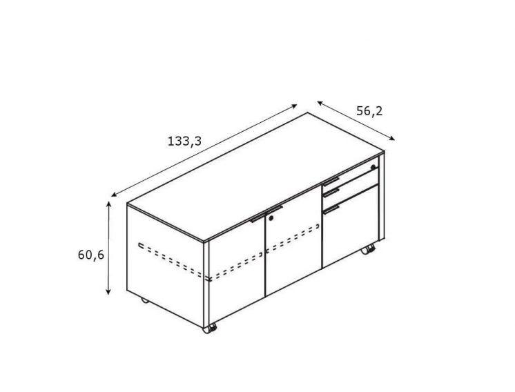 Multifunktionscontainer-Metar-Abmessungen