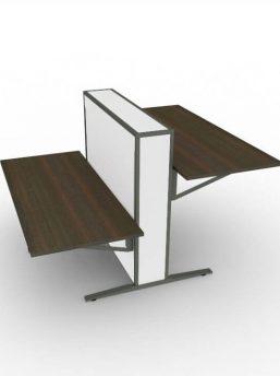 2-Personen-Schreibtisch-elektrisch-hoehenverstellbar-FLOW-wenge-weiss-anthrazit
