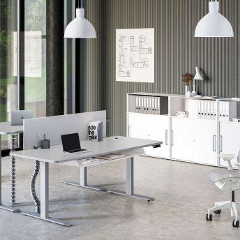 Move3Premium-Schreibtisch-weiß-hoehenverstellbar