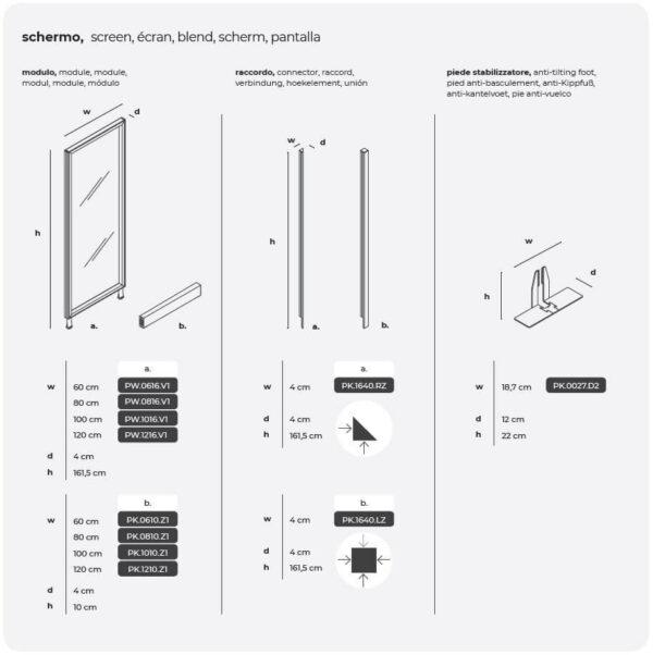 Abmessungen-Glastrennwandsystem-Kubick-Glass-mit-Sockel