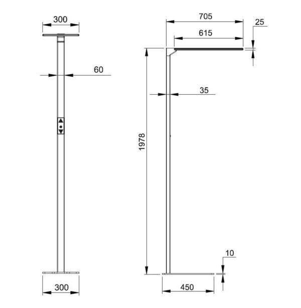 Abmessungen-Stehlampe-SDF-015