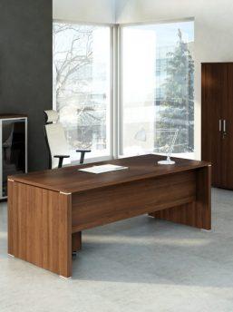 QUANDO-Schreibtisch-Wenge
