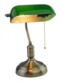 Tischlampe-Bankers-gruen