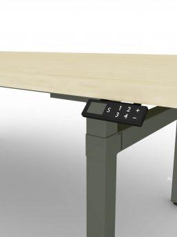 Konferenztisch-elektrisch-hoehenverstellbar-Memory-Steuerung