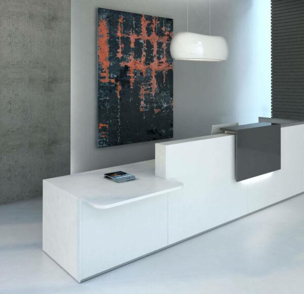 Empfangstheke-Vivo-LED-Beleuchtung