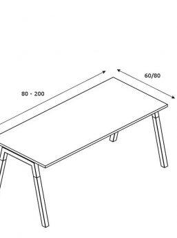 Abmessungen-Schreibtisch-mit-Holzbeinen-Polare