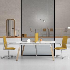 Bench-Schreibtisch-Polare
