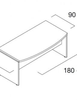 Schreibtisch Status 4