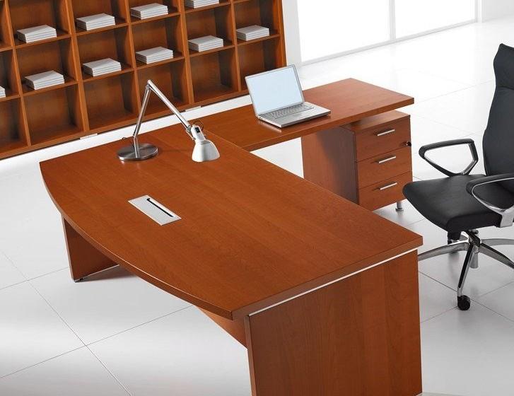 Schreibtisch mit Standcontainer